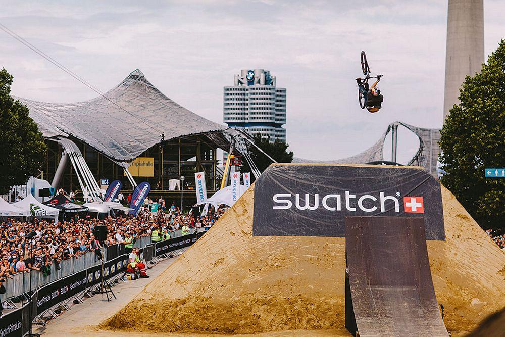 Brett Rheeder claims Swatch Prime Line Munich