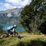 Glissade in Paganella – Markus Reiser and Raphaela Richter are way out in front at EES stop #4