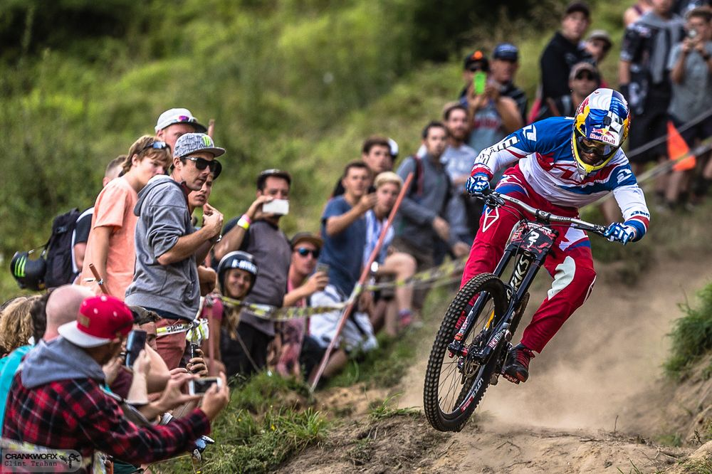 Loic Bruni takes the last event on Crankworx Rotorua 2016