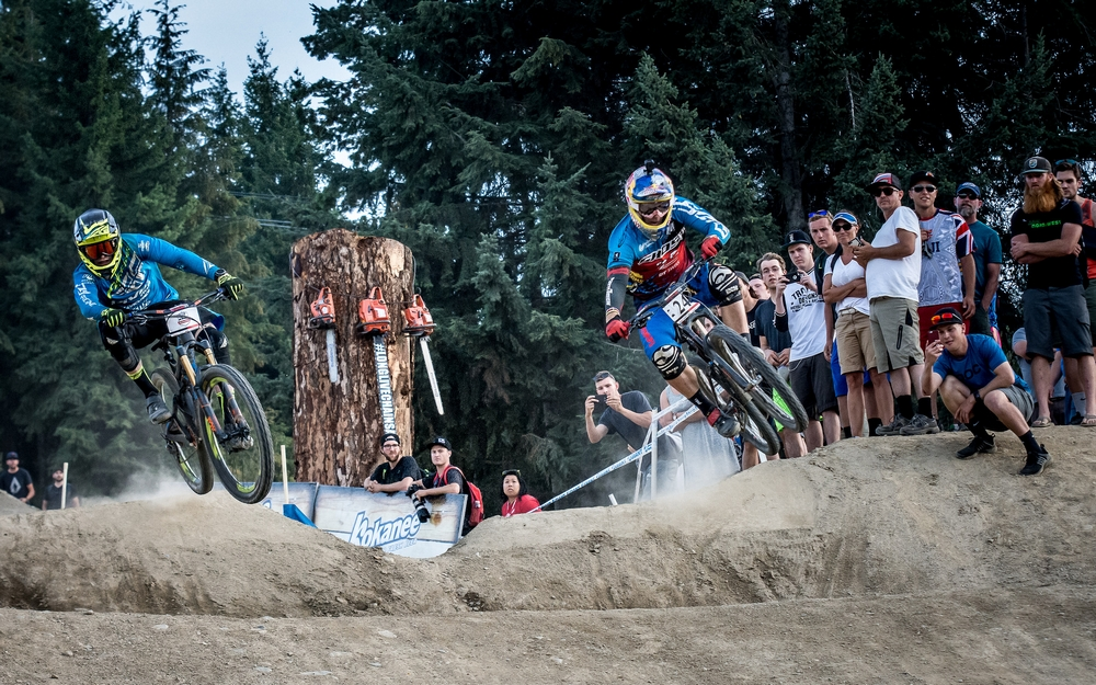 GIANT Dual Slalom determines Queen of Crankworx