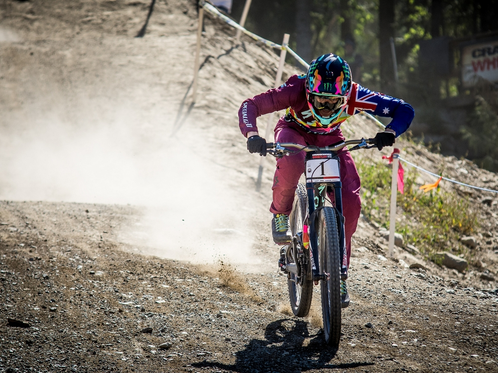 Major win for Australians at Crankworx
