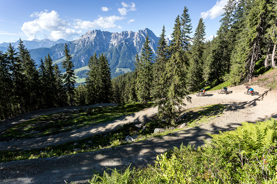 Special treat for bikers: Bikepark Leogang boasts one and only GoPro Lounge