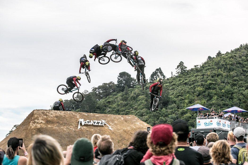 Nicholi Rogatkin wygrywa slopestyle podczas Crankworx Rotorua 2017