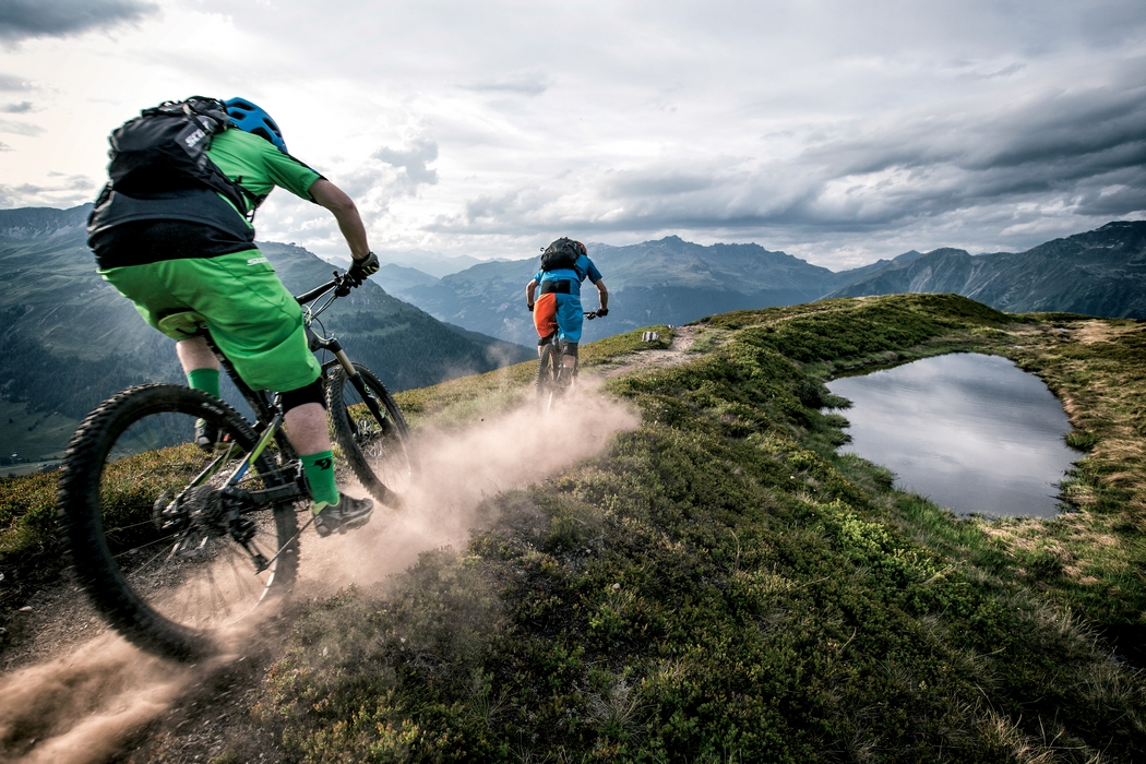 Szwajcarska Gryzonia zaprasza rowerzystów