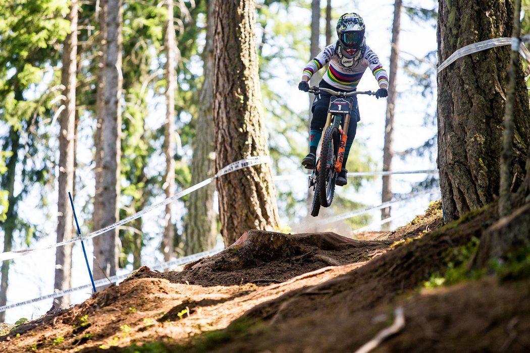 Crankworx Innsbruck 2017: Danny Hart i Tracey Hannah triumfują w zjeździe