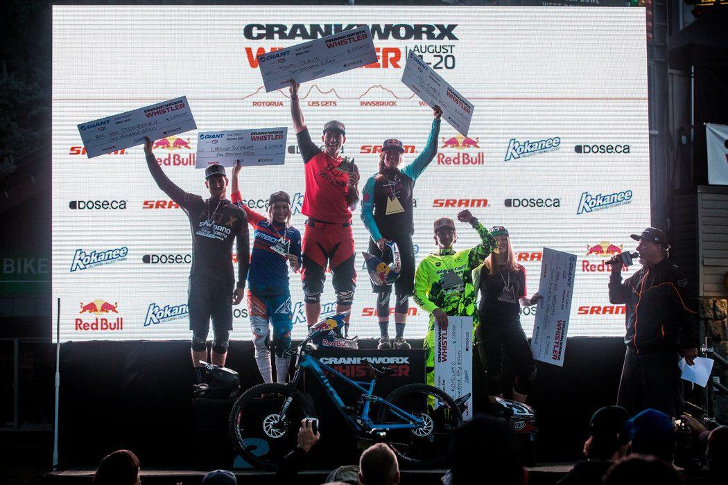 GIANT Dual Slalom kicks off massive Crankworx weekend