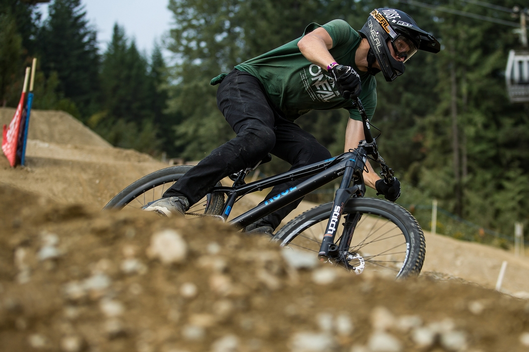 Crankworx launches with dynamic dual speed showdown