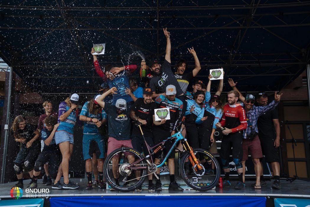 Sam Hill i Cecile Ravanel wygrywają szóstą rundę Enduro World Series 2017 w Aspen