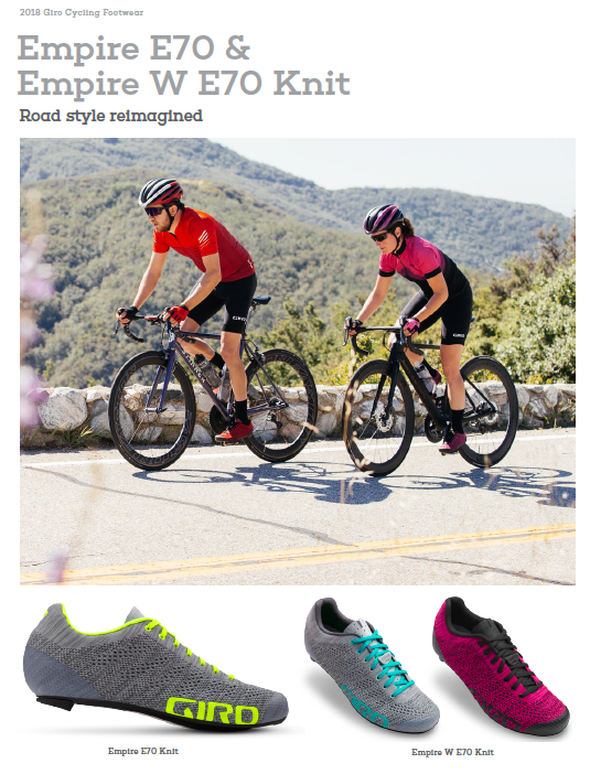 Giro launches Xnetic™ Knit cycling footwear