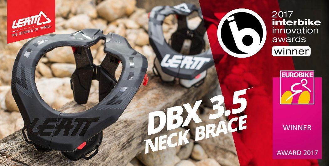 Leatt DBX 3.5 Neck Brace Wins Two Prestigious International Awards