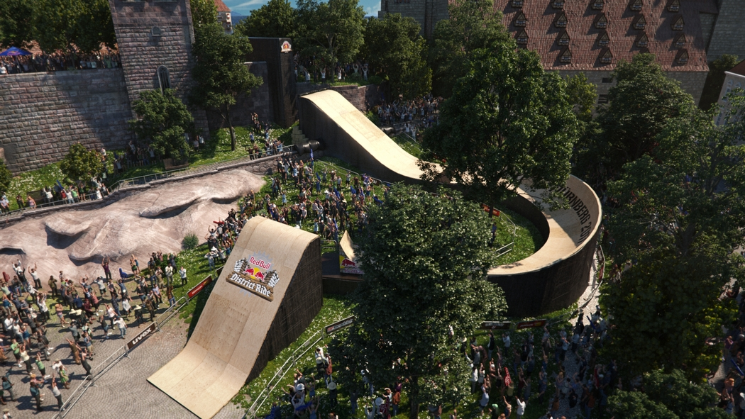Red Bull District Ride 2017 - Track Check - 360° Virtual Reality