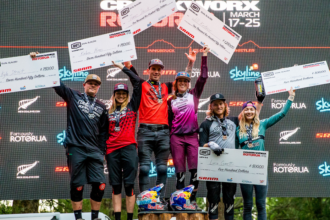 Crankworx Rotorua 2018: Jill Kintner wygrywa Dual Slalom po raz szósty z rzędu