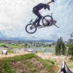 Crankworx Rotorua 2018: big style and big speed launch Big Swede to the top