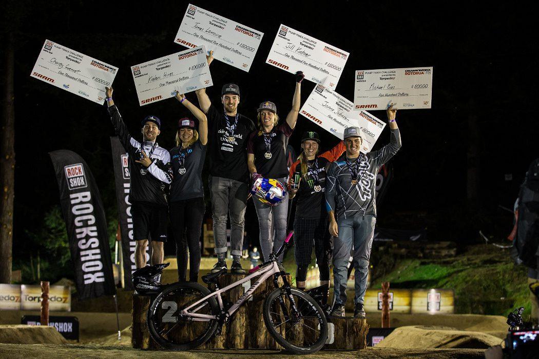 Crankworx Rotorua 2018: Jill Kintner i Tomas Lemoine wygrywają na pump tracku