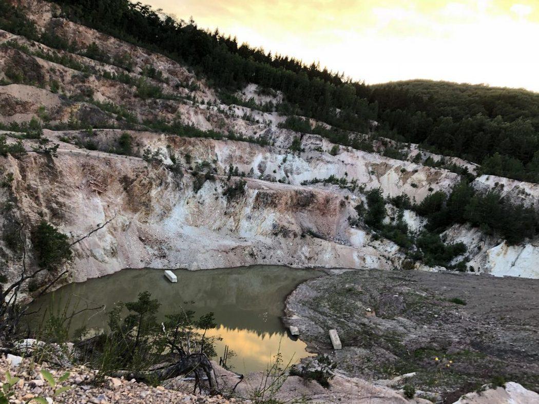 Audi Nines MTB Idarkopf 2018: Premiere in a Quarry!