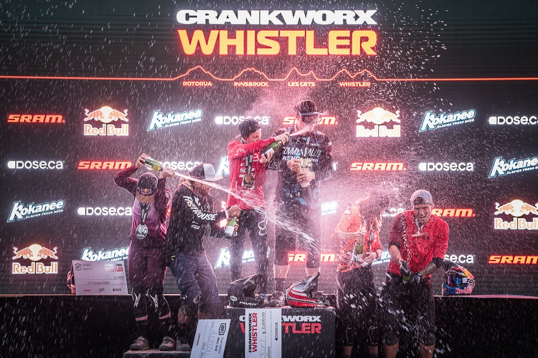 Dani Beecroft dethrones Queen and Kyle Strait reclaims top spot in Dual Slalom at Crankworx Whistler