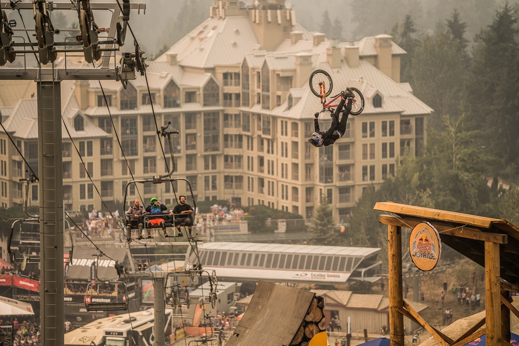 Crankworx Whistler 2018: Nicholi Rogatkin makes mountain bike history in Whistler