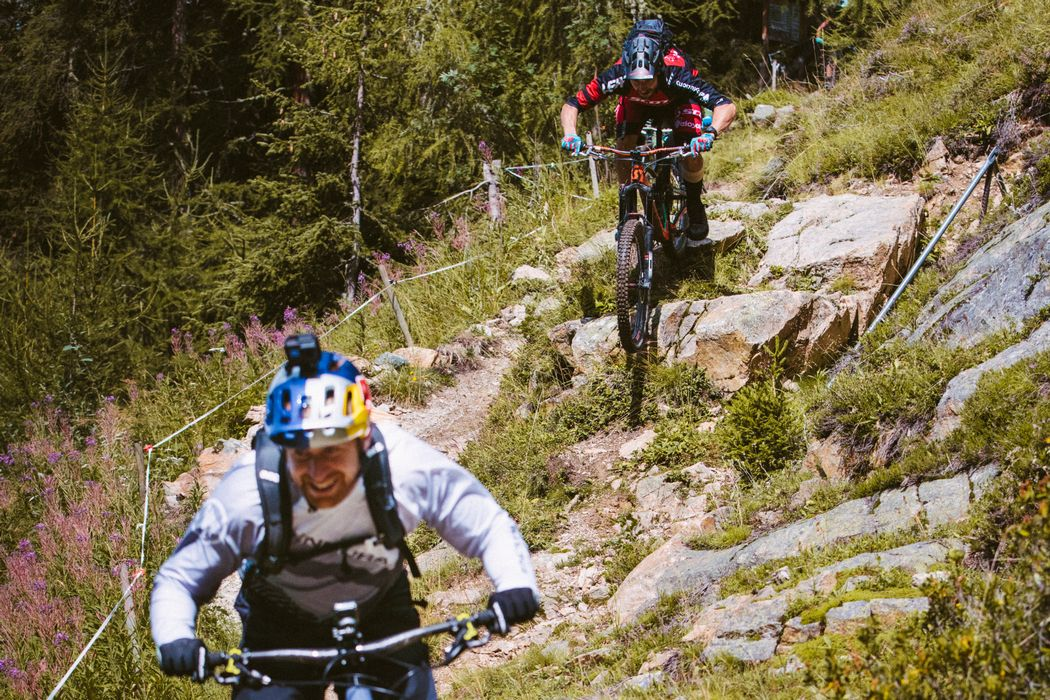 Fans shred Home of Trails with Danny MacAskill and Claudio Caluori