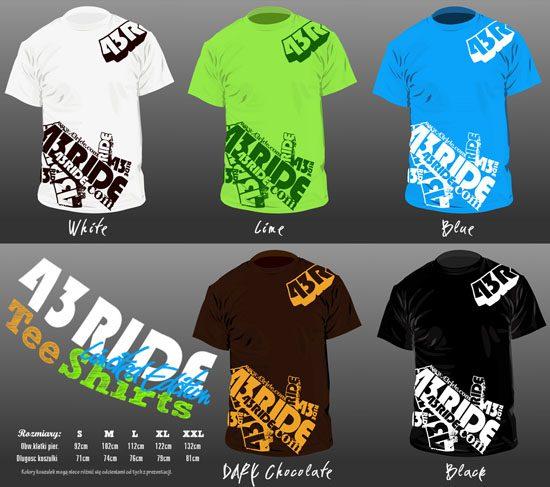 Limitowane koszulki 43RIDE!