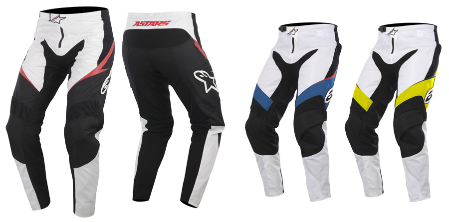 sight pants wht blk red - new