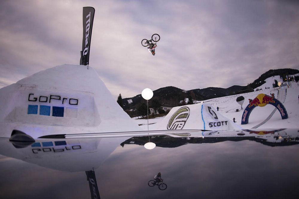 Mountain Bikes on Snow - Freeride-get-together in Saalfelden-Leogang