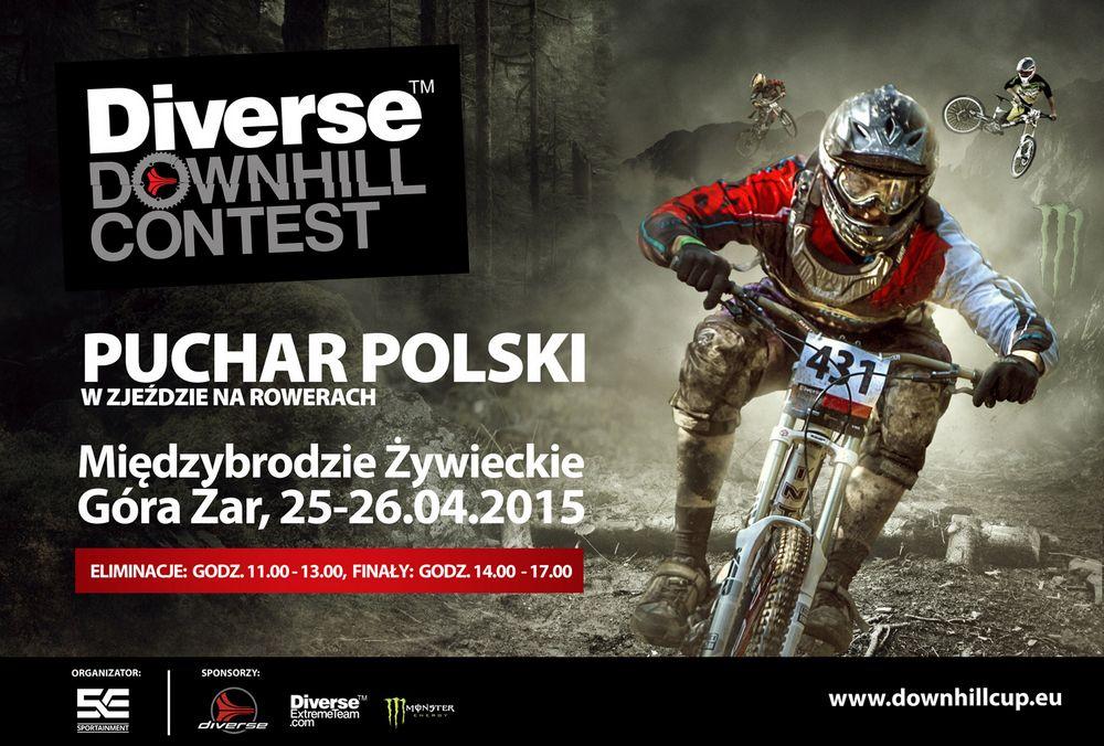 Diverse Downhill Contest - video zapowiedź Pucharu Polski DH