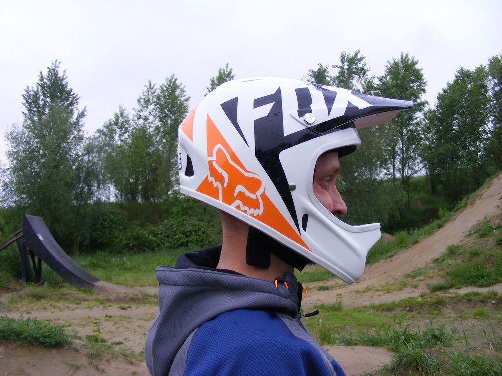 Pierwsze wrażenie - kask Fox Rampage Race