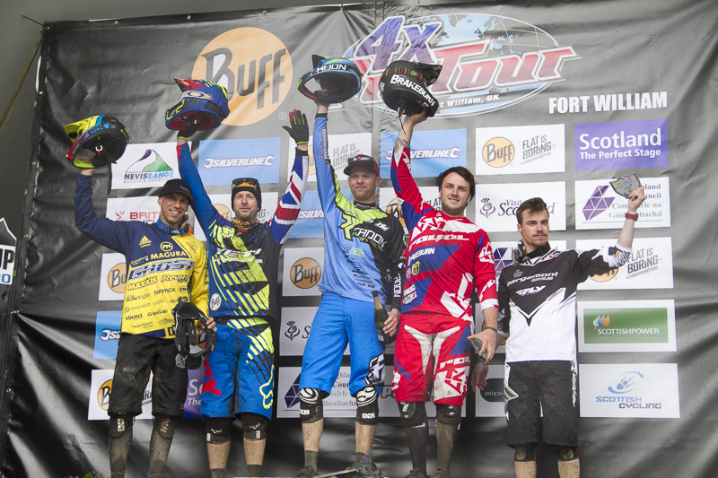 4X Pro Tour 2015 rd2 Fort William - wyniki