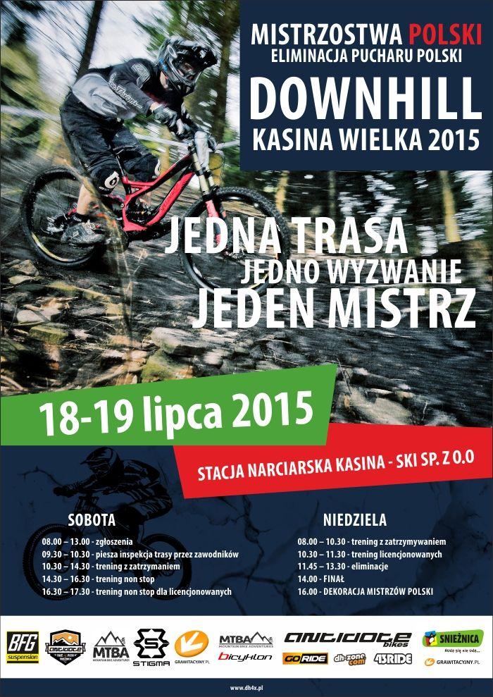 Mistrzostwa Polski 4X oraz DH - informacje