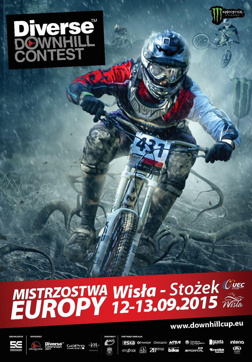 Przegląd trasy Mistrzostw Europy DH 2015 w Wiśle