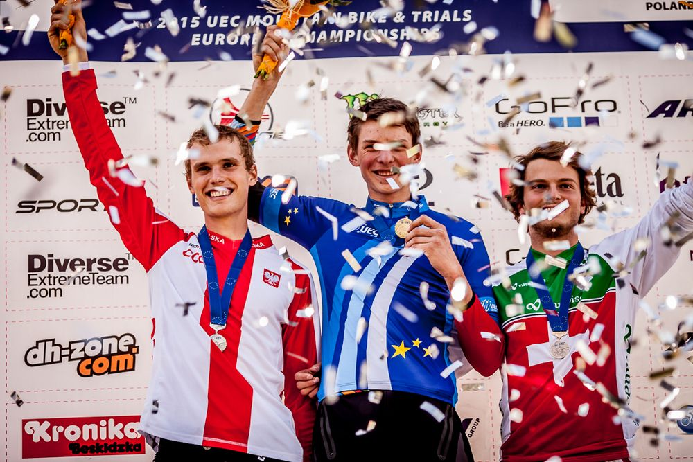 Mistrzostwa Europy DH 2015 - Diverse Downhill Contest: oficjalne video