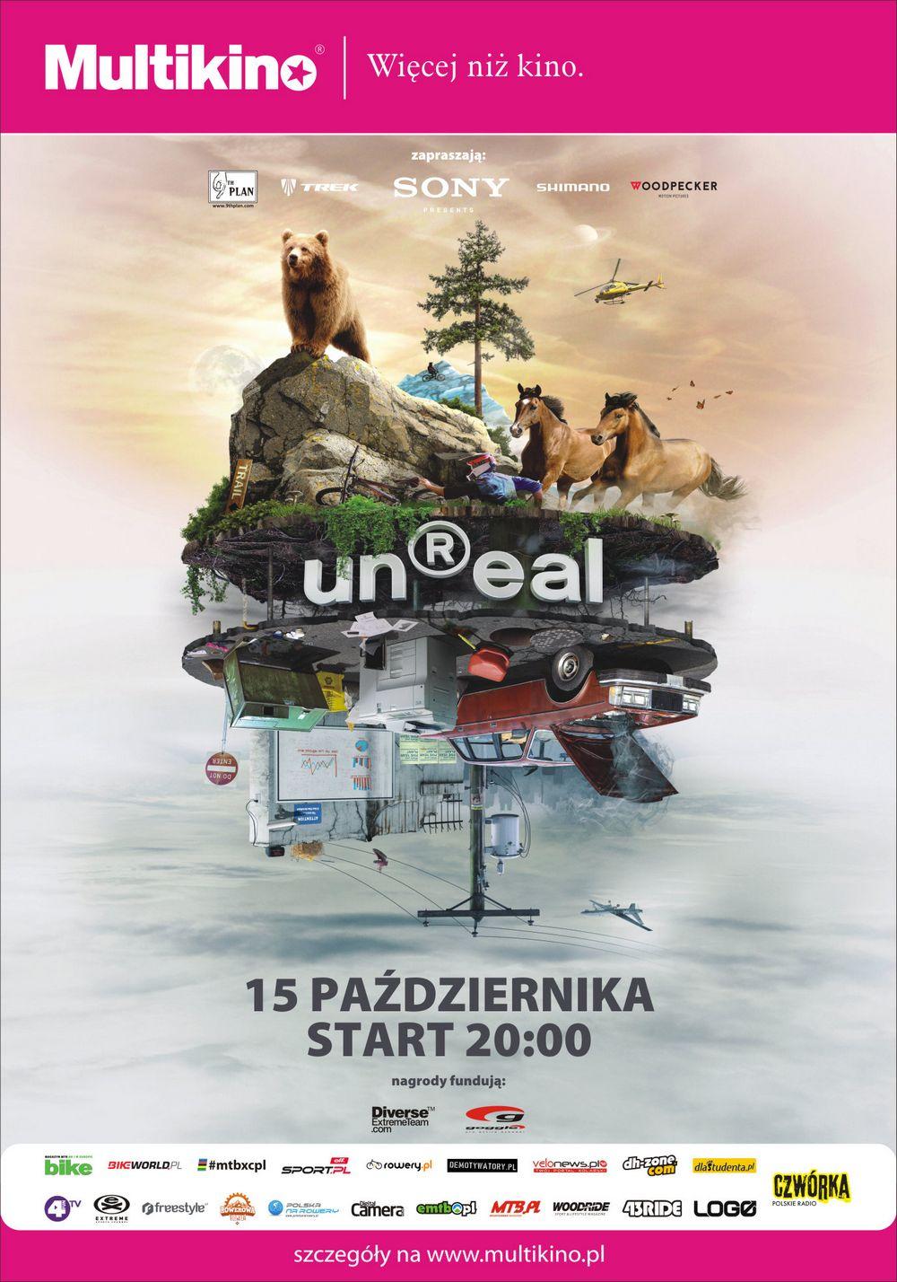 unReal - największe wydarzenie rowerowe roku 15 października tylko w Multikinie!