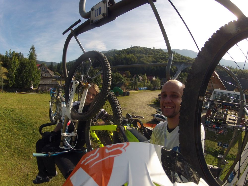 Z wizytą w PKL Bike Park w Zawoi