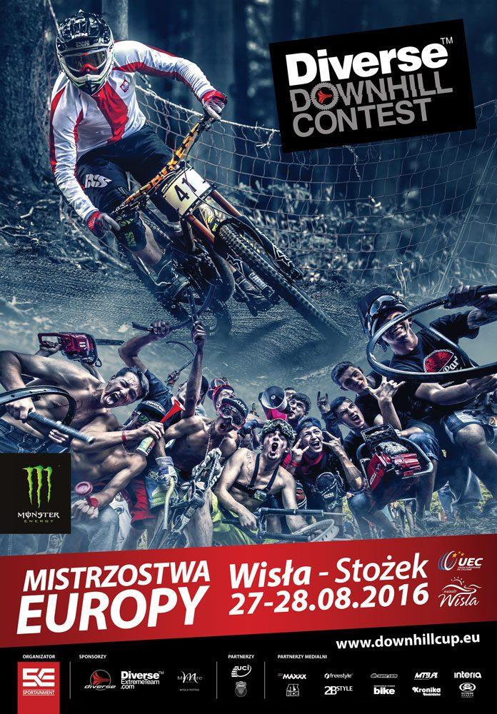 Diverse Downhill Contest: Mistrzostwa Europy w Wiśle – oficjalna zapowiedź video