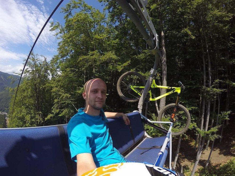 Z wizytą w Bike Parku Kouty nad Desnou