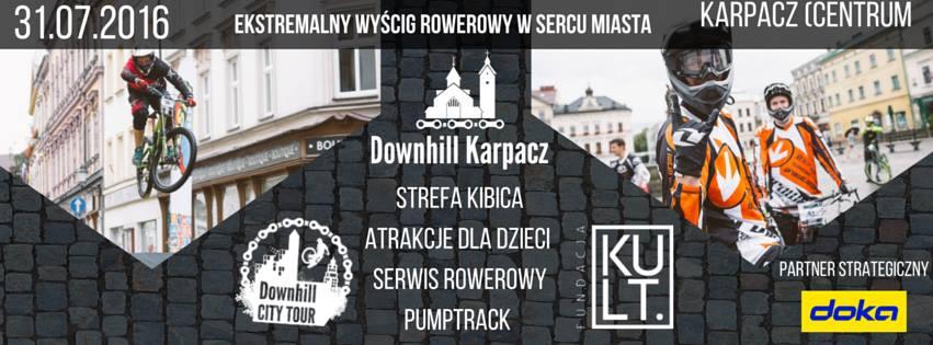 Zapowiedź drugiej rundy Downhill City Tour 2016