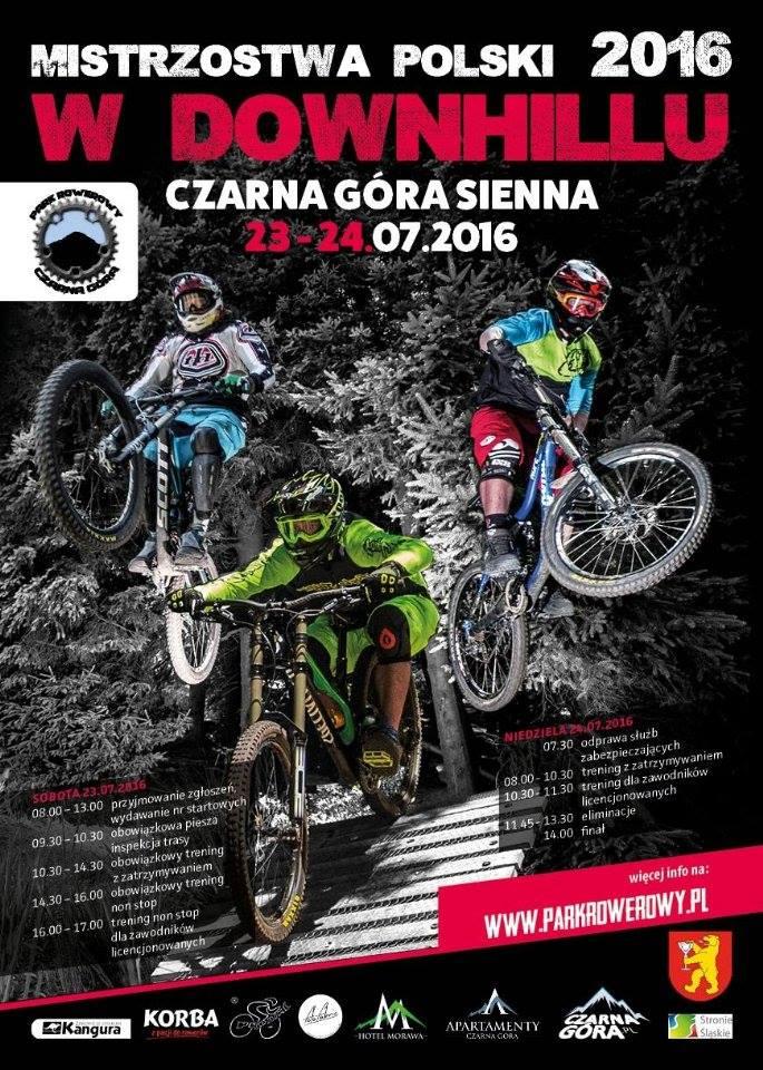Mistrzostwa Polski DH 2016 - wyniki