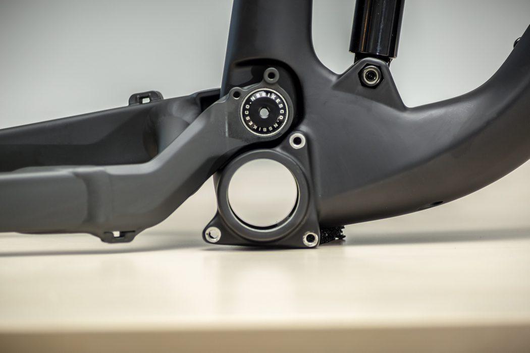 Rama NS Bikes Snabb E Carbon 2017 - prezentacja
