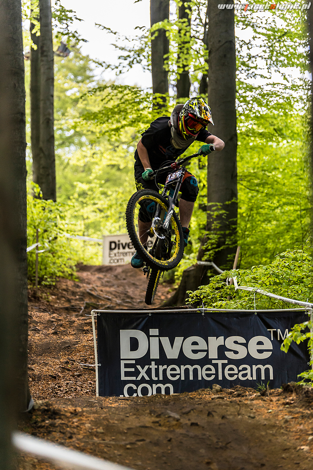 Kolejny sezon rowerowego ćpania - Local Series of Downhill