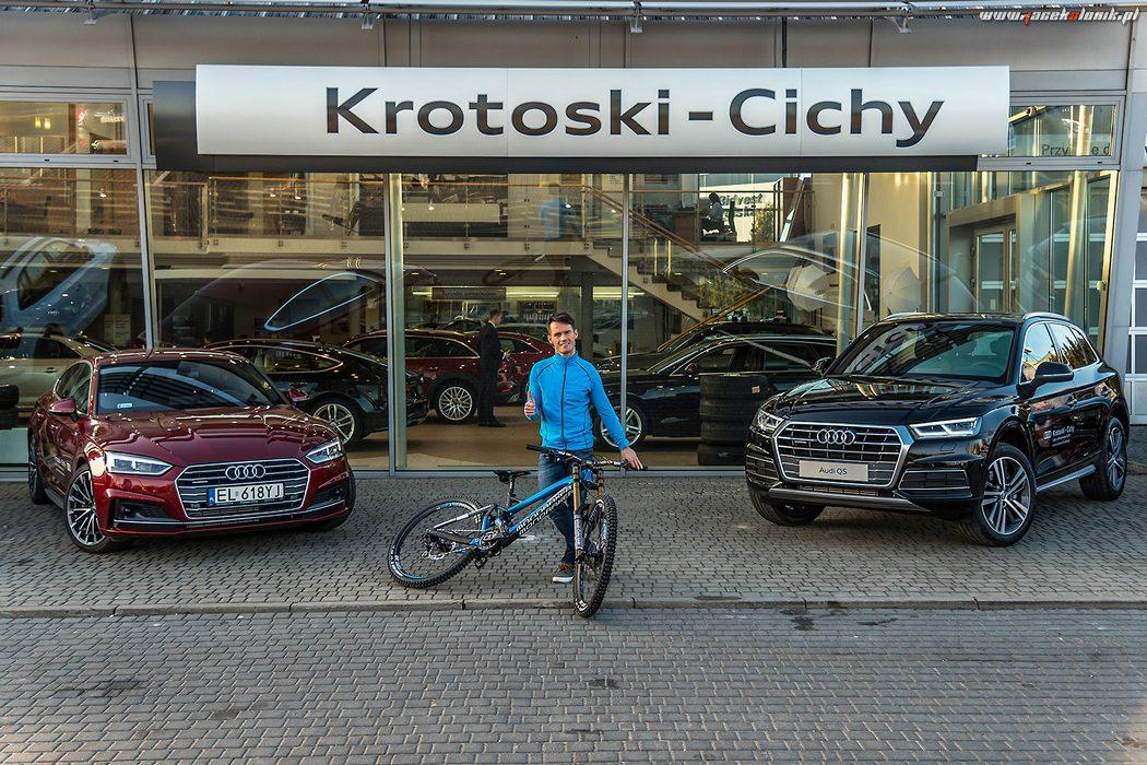 Grupa Krotoski-Cichy Łódź nowym sponsorem Artura Miśkiewicza!