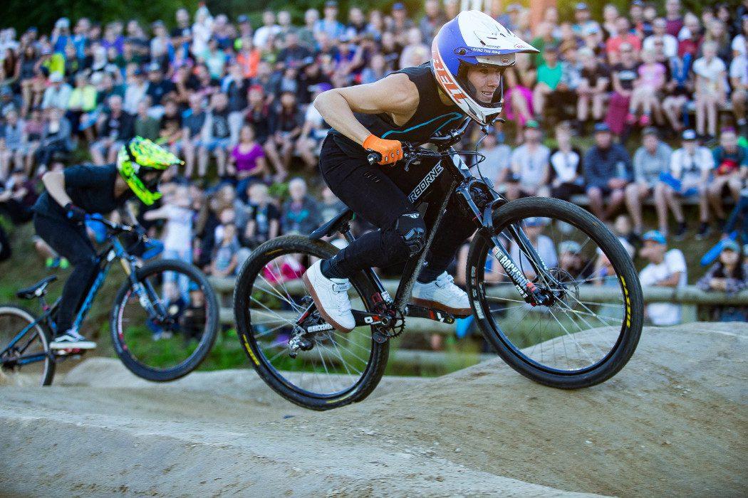 Crankworx Rotorua 2017: Keegan Wright i Caroline Buchanan wygrywają Pump Track Challenge