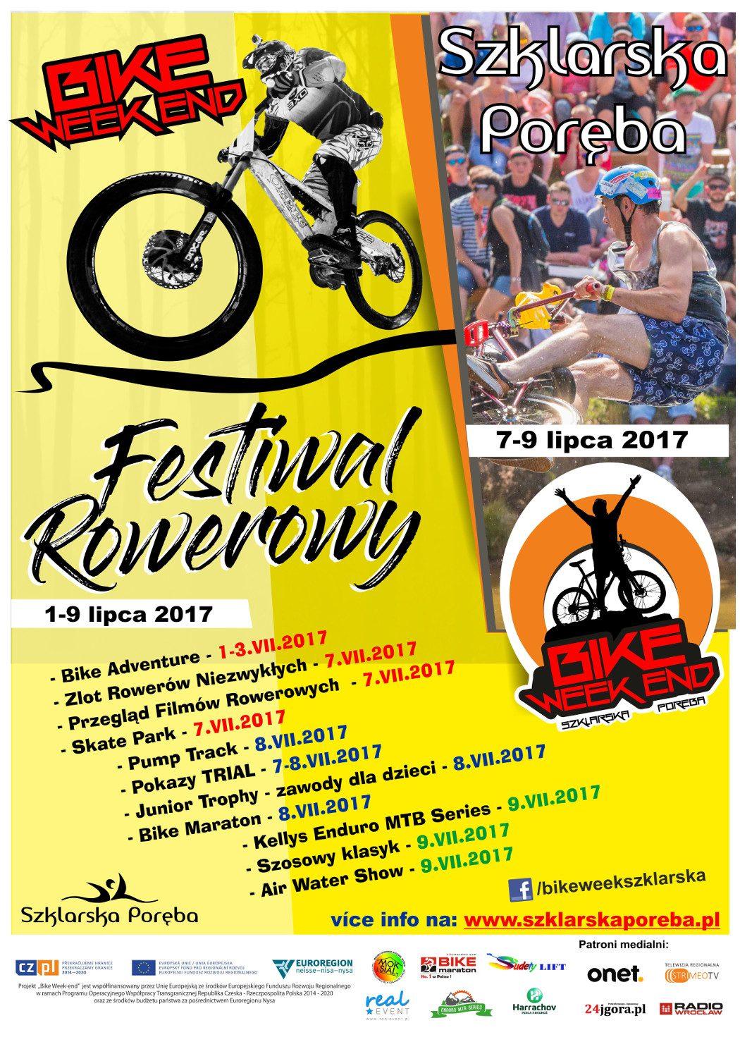 Festiwal Rowerowy Bike Week Szklarska Poręba 2017