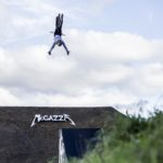 Matt Jones i Thomas Genon przed Crankworx Les Gets Slopestyle 2017