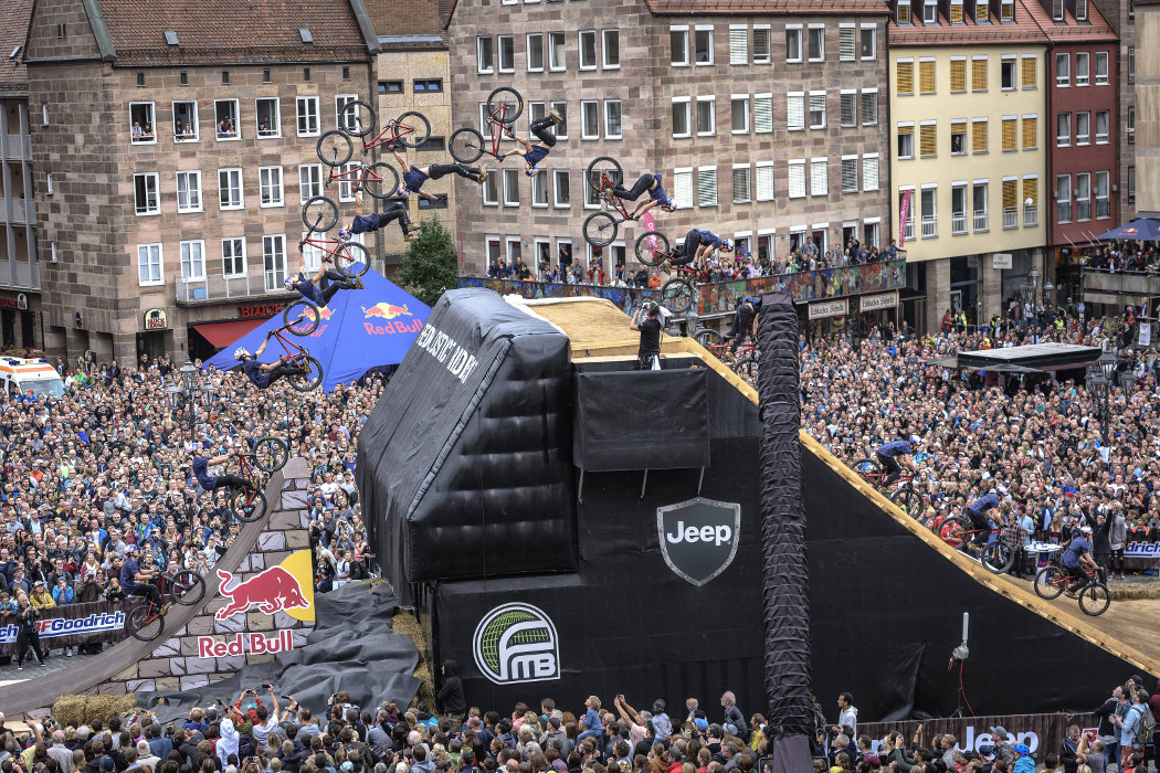 World's First 1440 by Nicholi Rogatkin at Red Bull District Ride