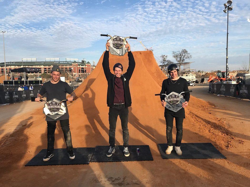 Dawid Godziek wygrywa Puchar Świata BMX Dirt!