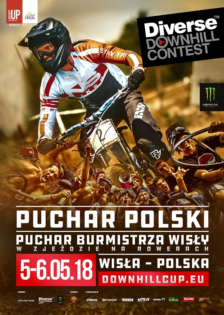 Diverse Downhill Contest - video z trasy przygotowanej na Puchar Polski DH