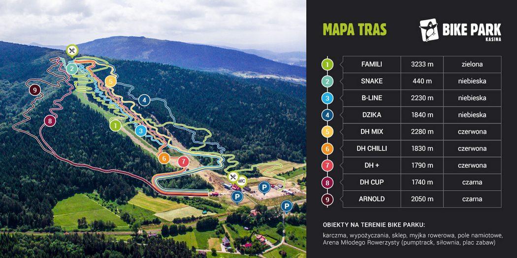 Już 1-go maja wracamy na rowery w Bike Park Kasina w Kasinie Wielkiej!