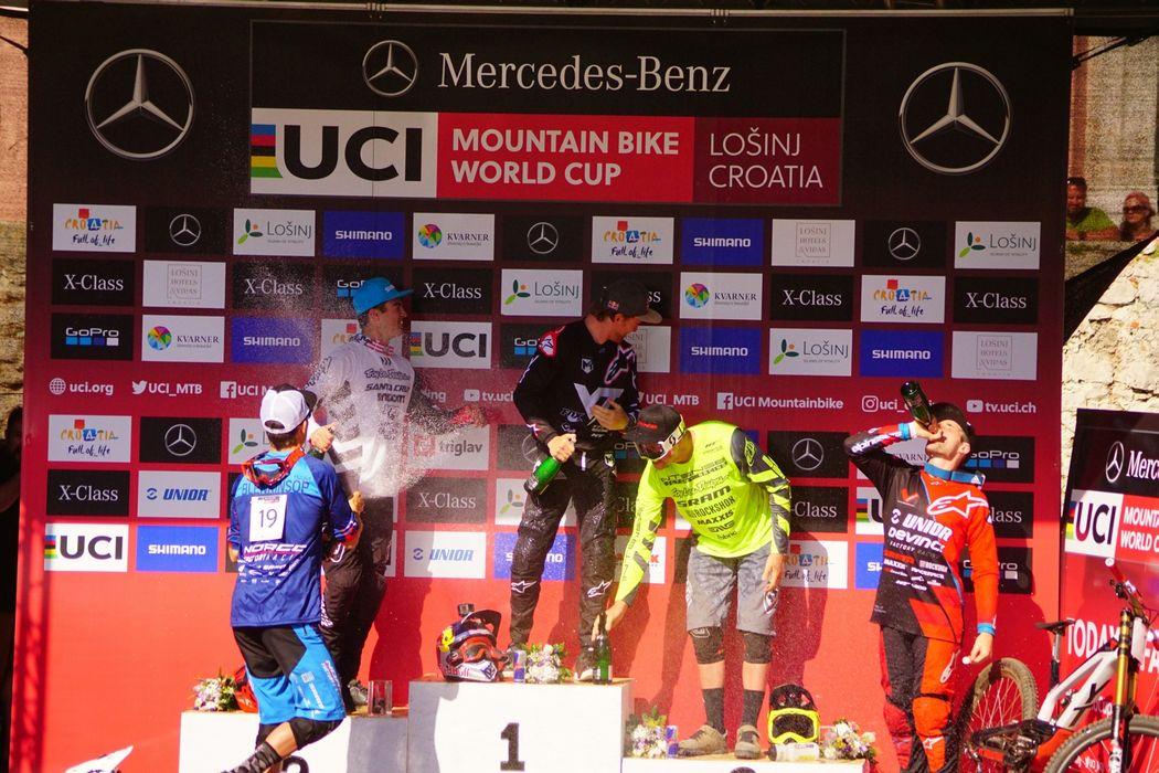Puchar Świata DH 2018: Aaron Gwin i Rachel Atherton wygrywają w Lošinj
