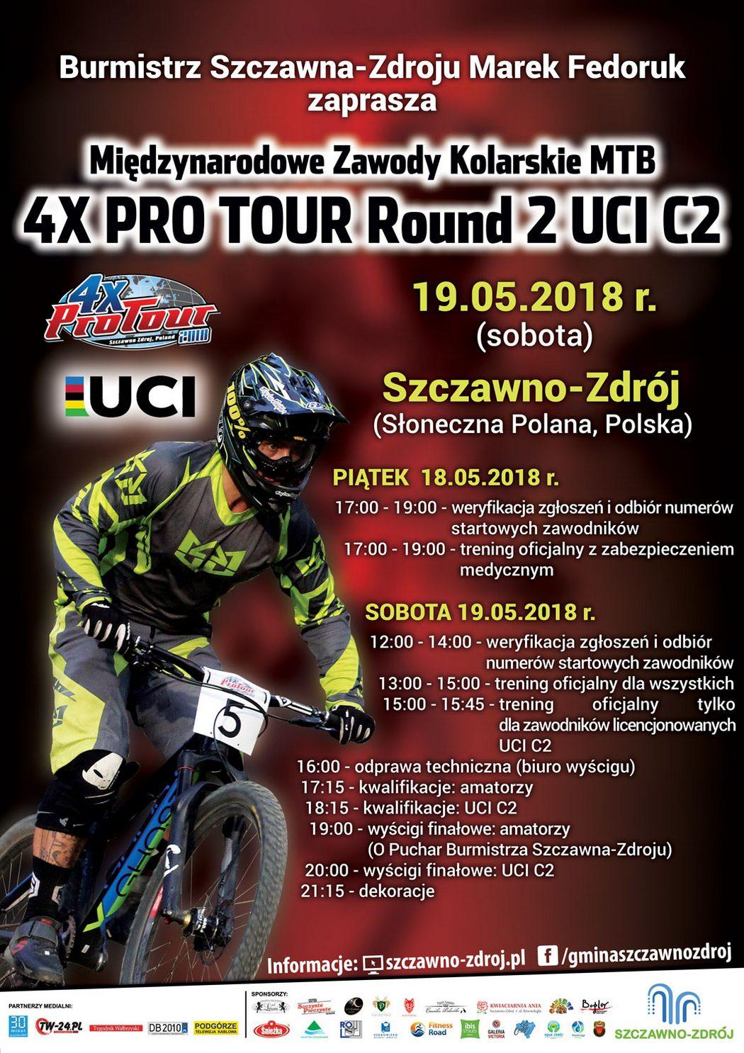 Zapowiedź drugiej rundy 4X Pro Tour w Szczawnie-Zdroju