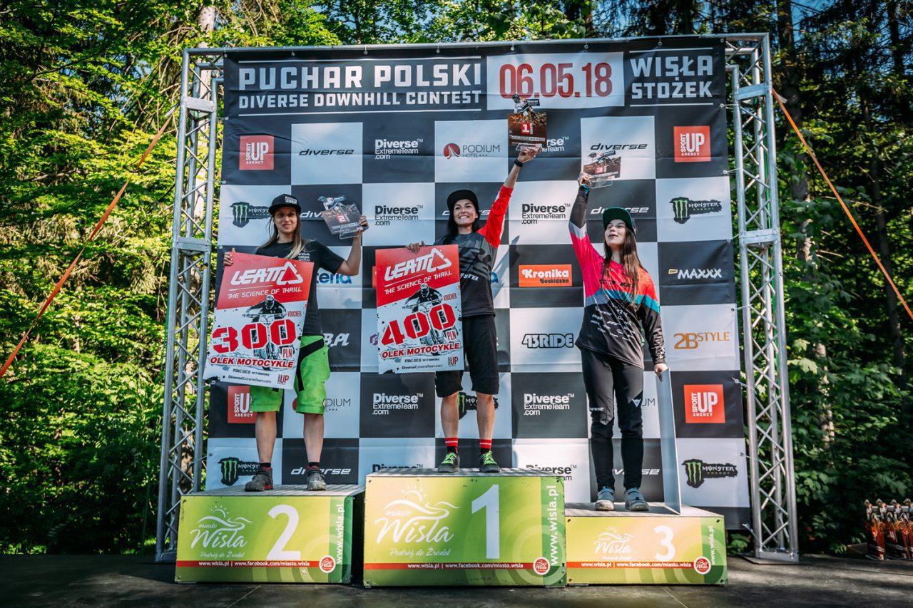 Klasyfikacja generalna po pierwszej rundzie Pucharu Polski DH 2018